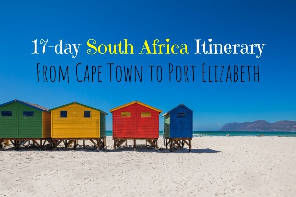 Ultimate Itinerary from Cape Town to Port Elizabeth