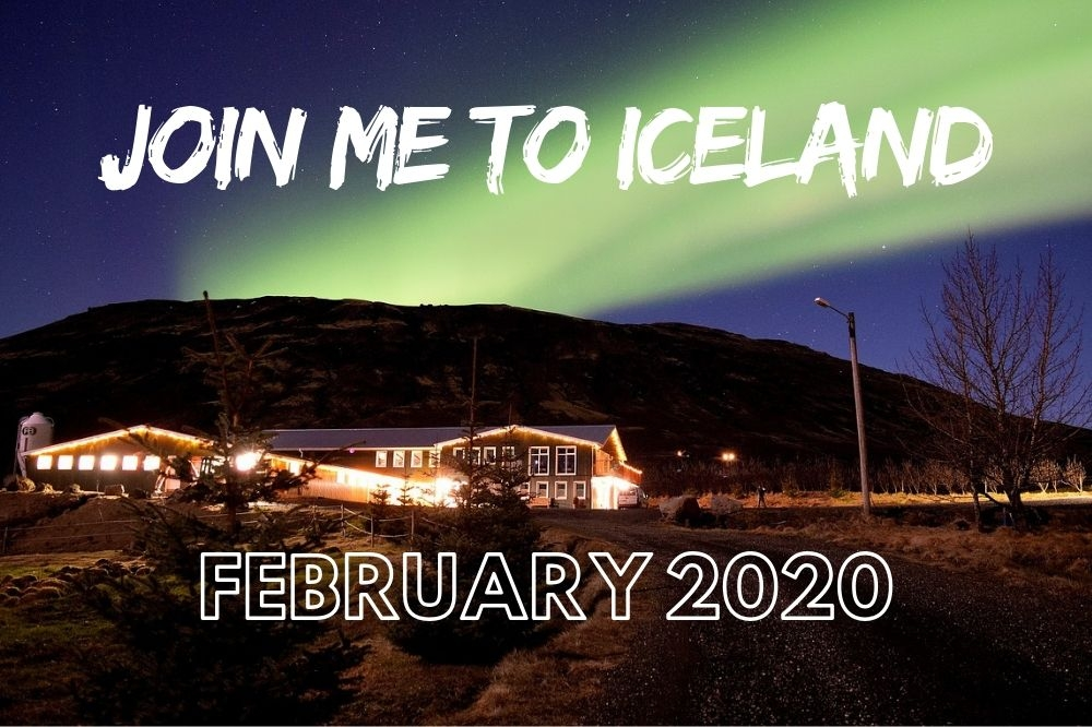 Join me | Northern Lights in Iceland February 2020