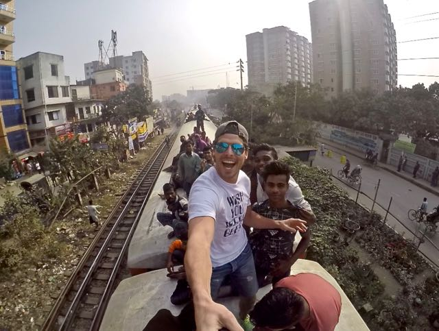 train ride bangladesh