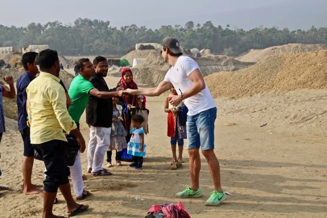 meeting locals in sylhet bangladesh
