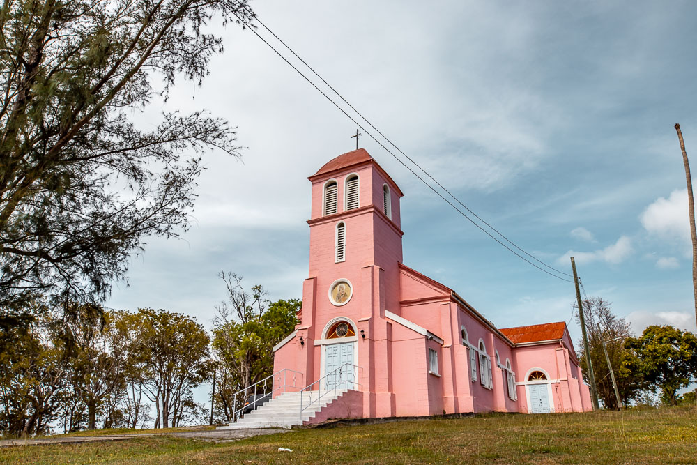 pink church antigua