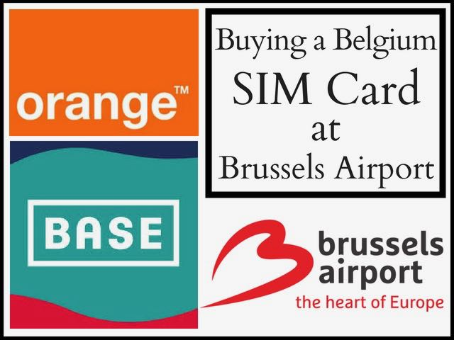 Buying A Belgium Sim Card At Brussels Airport - Traveltomtom