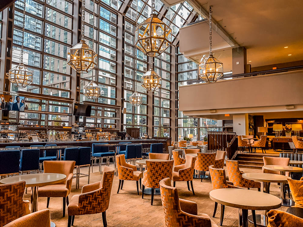 Le Centre Sheraton Montreal cafe bar