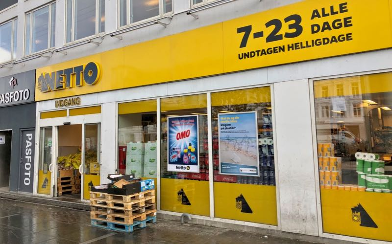 netto supermarket denmark