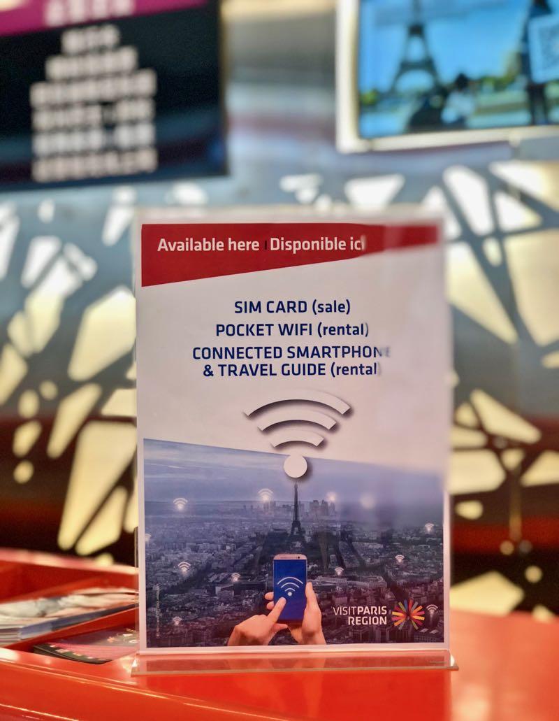 Buying A Sim Card At Paris Airport Relay Terminal 3 Cdg Best 2018