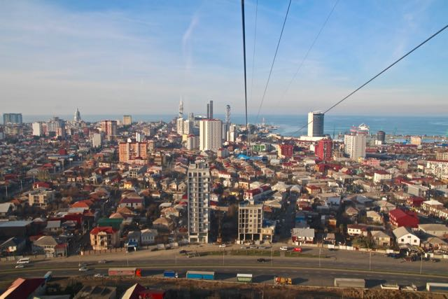 what to do in batumi cable car