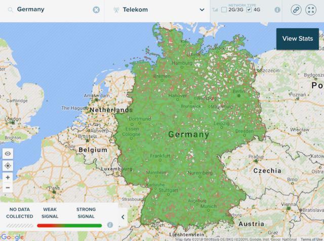 mobile operators in germany