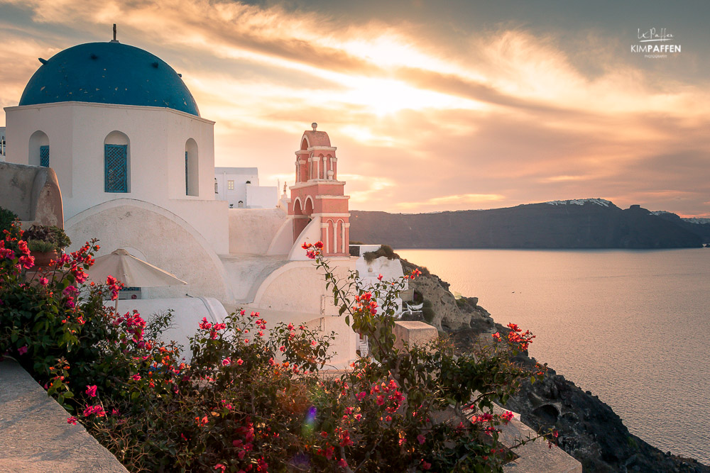 Sunrise Blue dome oia
