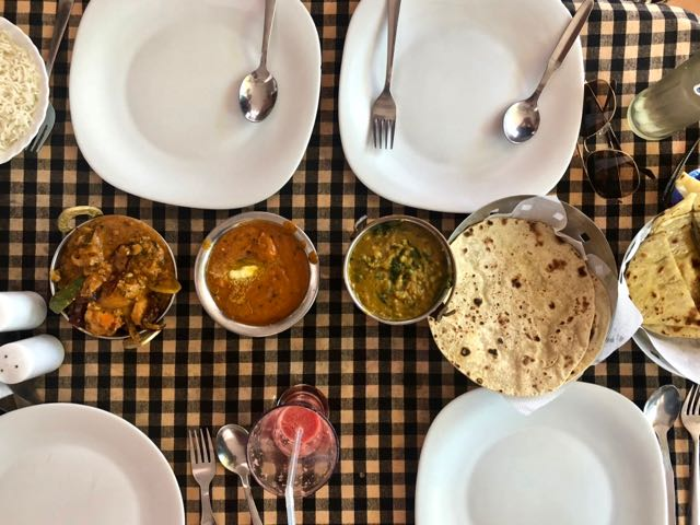 where to eat in agonda beach