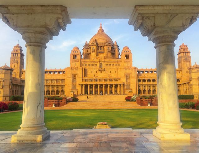 Like A King In A Palace In India: Taj Umaid Bhawan - Traveltomtom ...