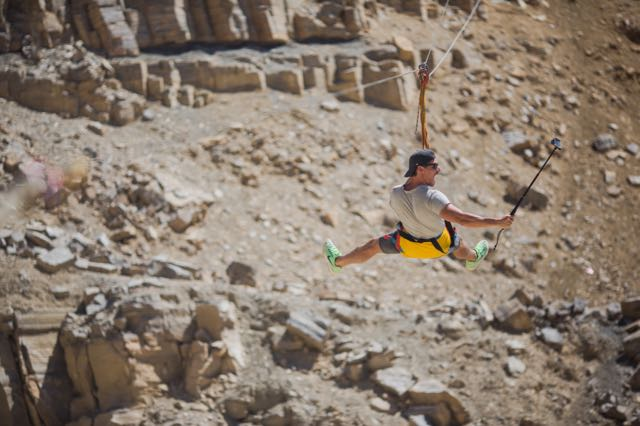 top things to do in israel zip lining