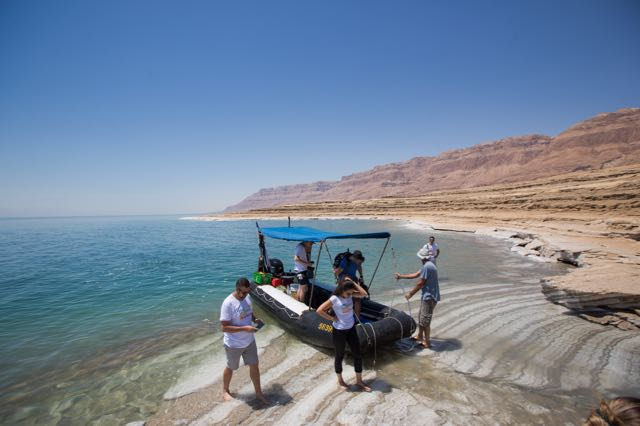 unique things to do in israel boat ride dead sea
