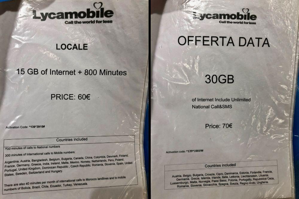 Buying an Italy Sim Card At Milan Malpensa Airport