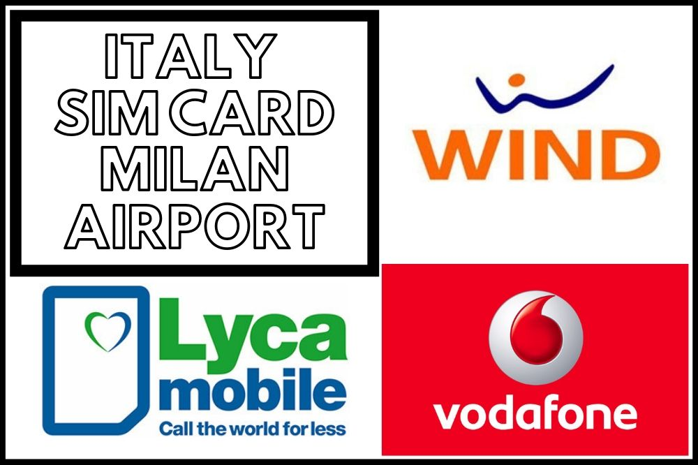 Buying an Italy Sim Card At Milan Malpensa Airport