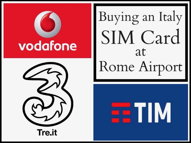 Buying An Italy Sim Card In Rome Airport Fiumicino