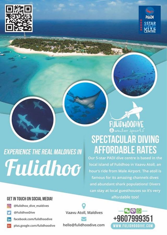 cheap diving in maldives