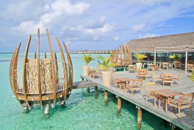 top 10 luxury resorts in maldives restaurant 1