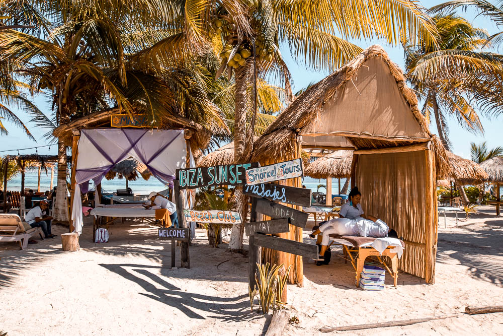 things to do costa maya massage