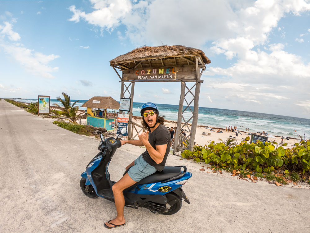 scooter rental cozumel 13