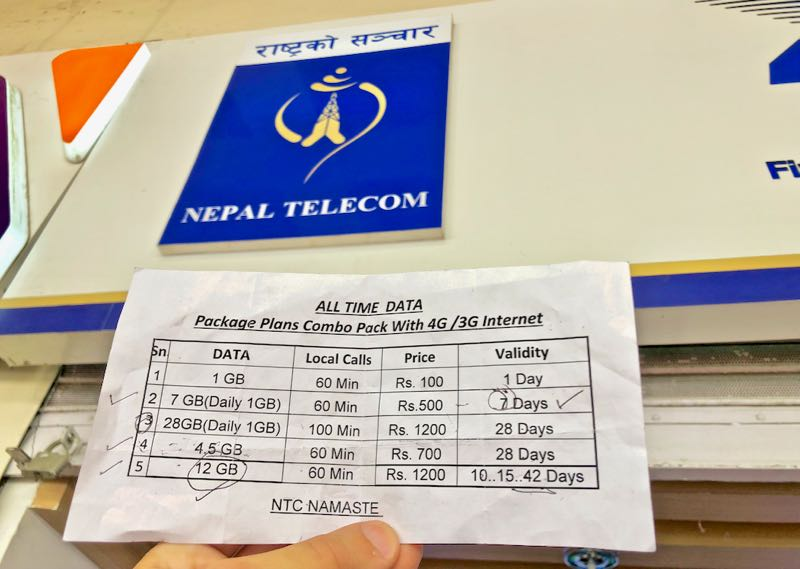 Nepal Karte Download.Buying A Nepal Sim Card At Kathmandu Airport Traveltomtom