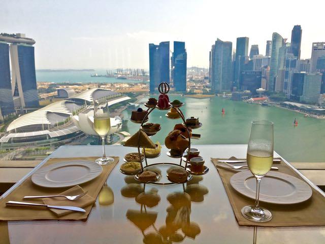 Club Lounge Ritz Carlton Singapore Ultimate Luxury