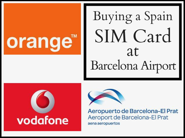 Buying A Spain Sim Card in Barcelona Airport - Traveltomtom
