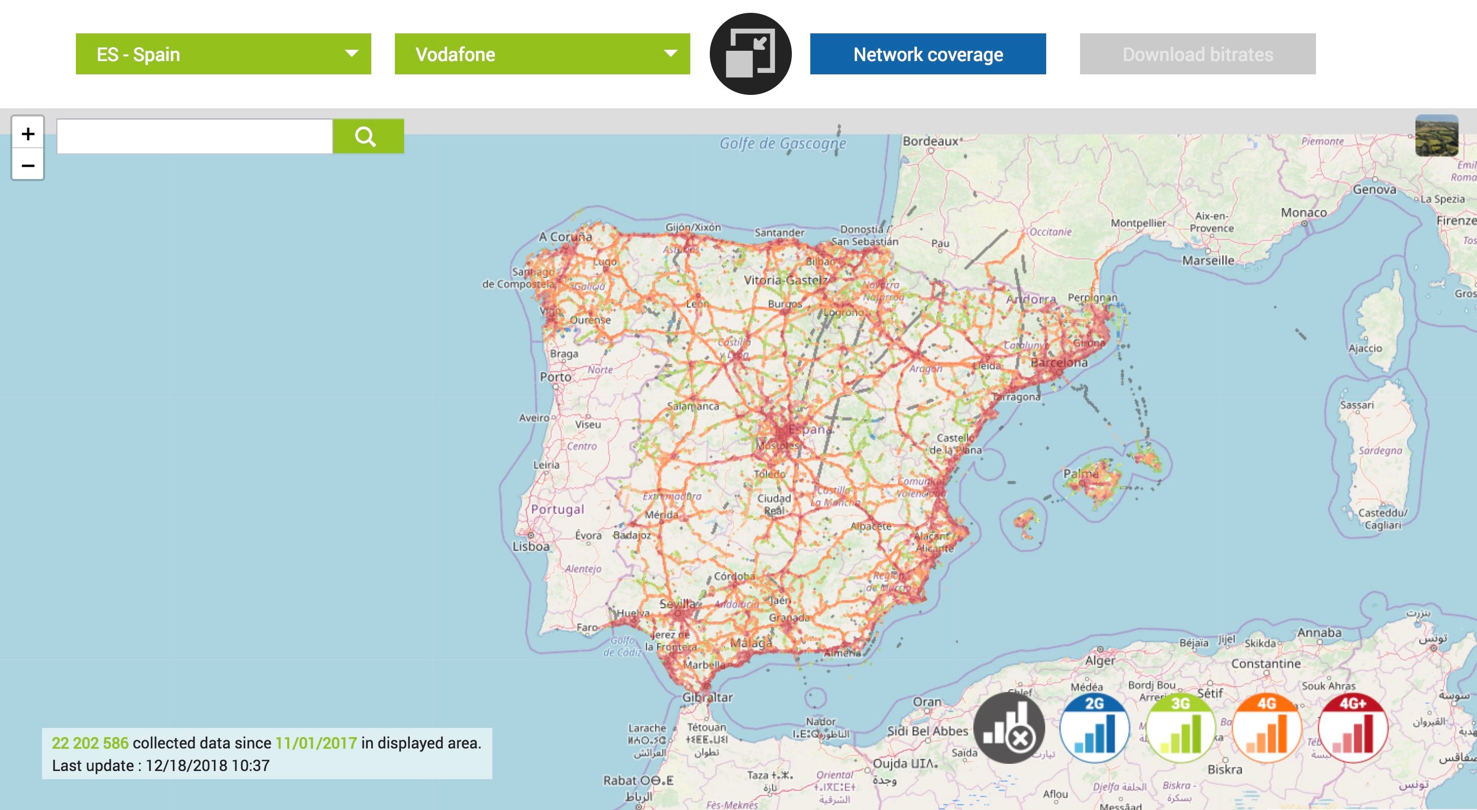 Map Of 4g Coverage France.Best Spain Sim Card For Tourists In 2019 Traveltomtom Net