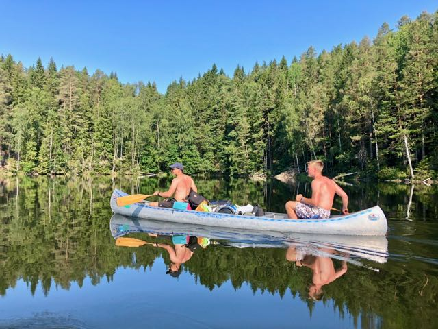 canoe tours sweden 4