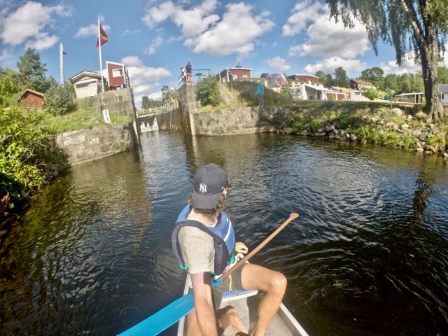 self guided canoe trips sweden 1