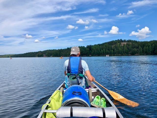 sweden canoe expedition 2