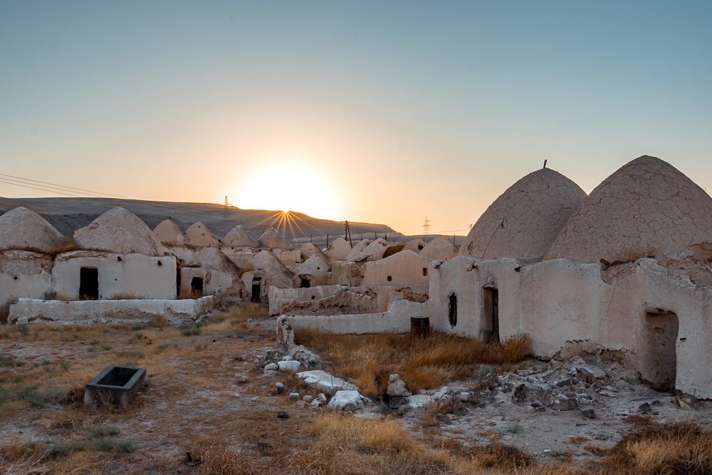 beehive houses syria
