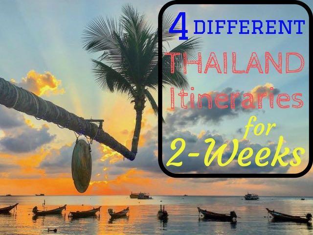 4 Thailand Itineraries For 2 Weeks - Traveltomtom net