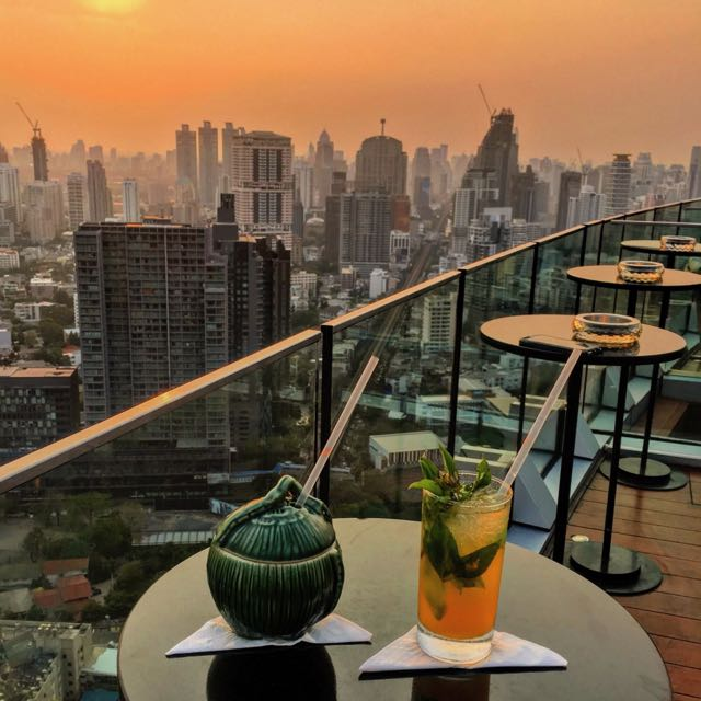 thailand travel tips rooftop bars in bangkok