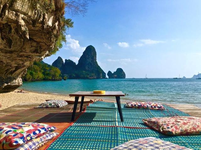 Best Beach Bars In Tonsai Beach Thailand
