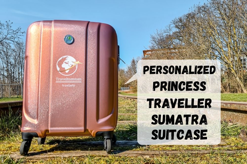 Personalized Princess Traveller Sumatra Suitcase | Review