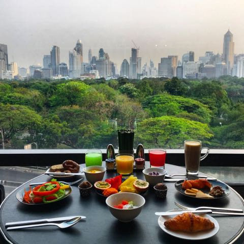 breakfast with a view bangkok