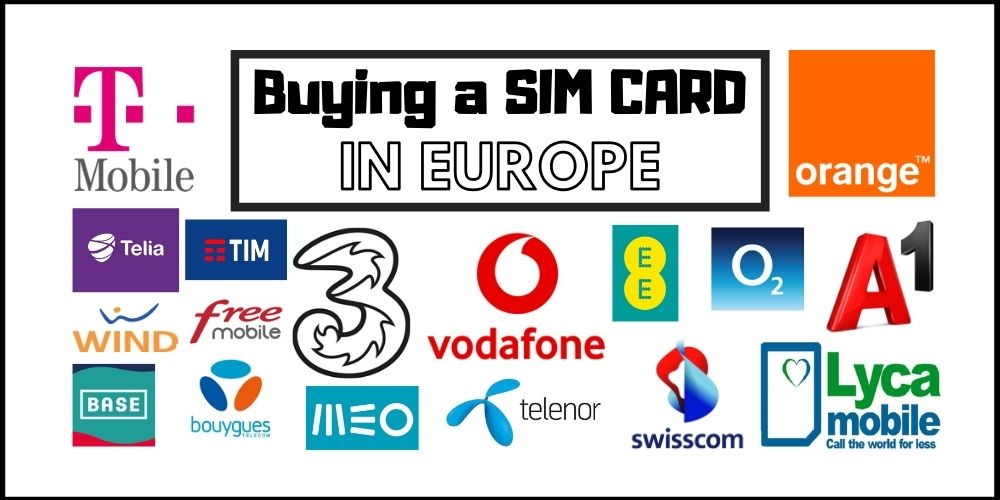 Buying a Local Sim Card in Europe in 2021