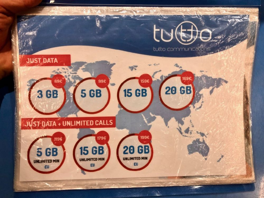 Best Prepaid Europe Sim Card for Tourists in 2019