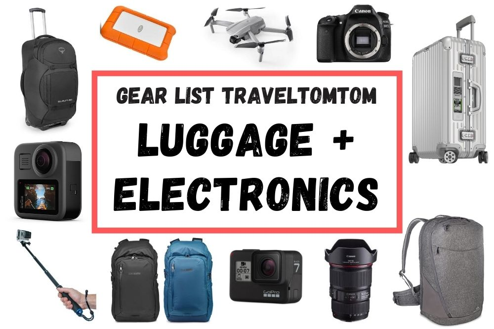 Travel Gear Packing Guide: Best Electronics and Luggage choice