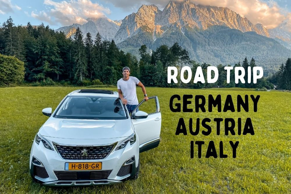 My 3-week road trip through Germany, Austria and Italy
