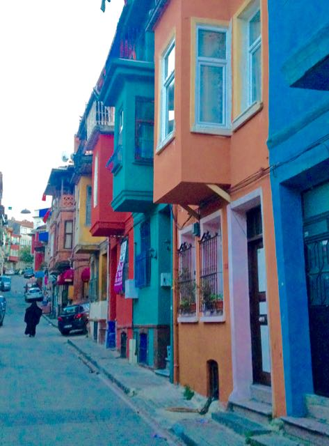 The Coloured House.The Coloured Houses Of Fener Balat Istanbul Www
