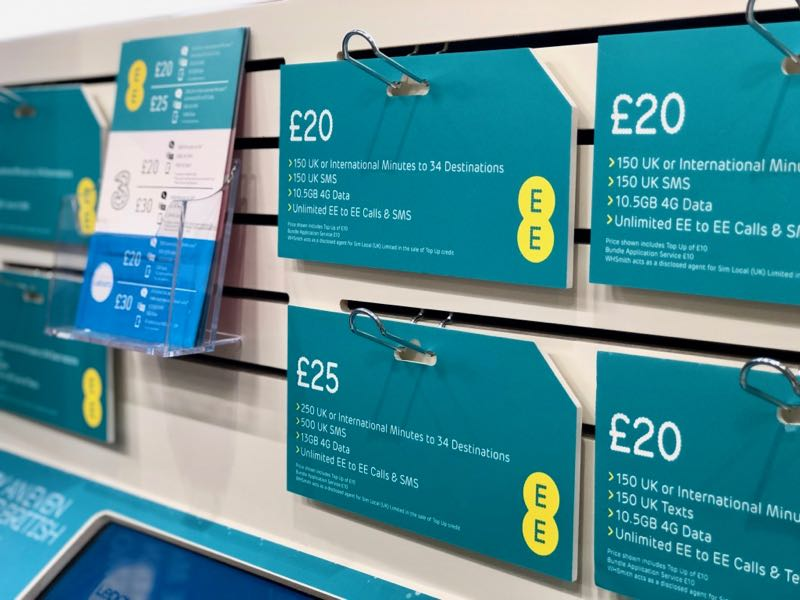 prepaid sim card uk ee