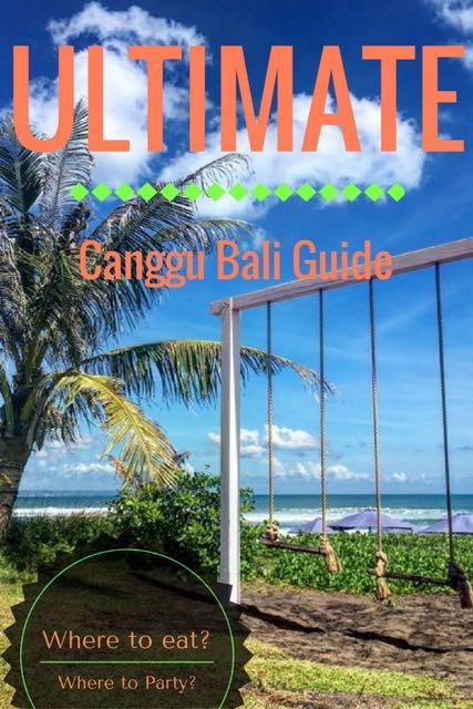 ULTIMATE canggu bali guide 11