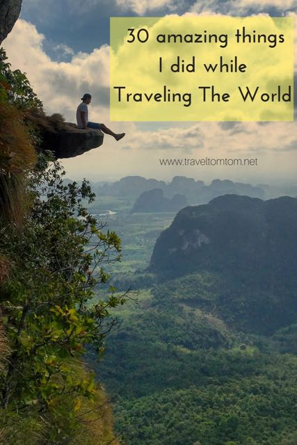 amazing things to do around the world
