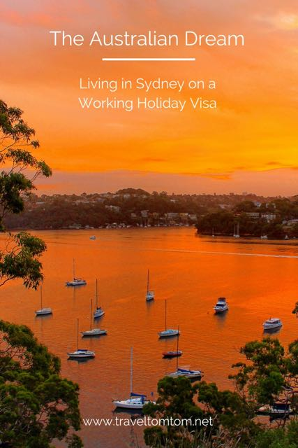 living in sydney on a working holiday visa