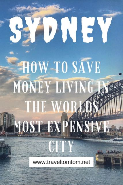 save money living in sydney