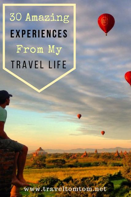 things I experienced because I traveled 131