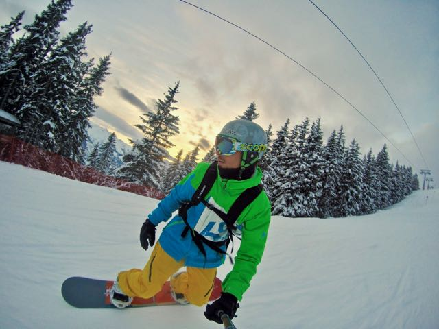 snowboarding in zell am see2